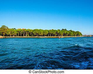 Giardini in Venice HDR - HDR I Giardini (meaning Gardens) in...