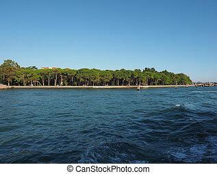 Giardini in Venice - I Giardini (meaning Gardens) in Venice,...