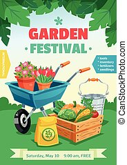 giardino, festival, manifesto
