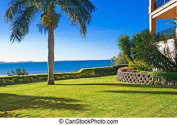 giardino, paesaggio