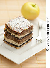 Gibanica - traditional slovenian apple cake