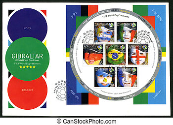 GIBRALTAR - 2006 : shows FIFA World Cup, Germany 2006