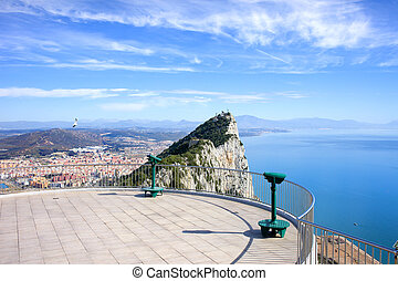 Gibraltar Rock Vantage Point - View point on the top of...