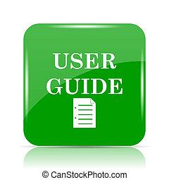 gids, gebruiker, pictogram