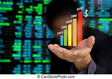 giełda, handlowy