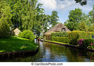 Giethoorn Village View