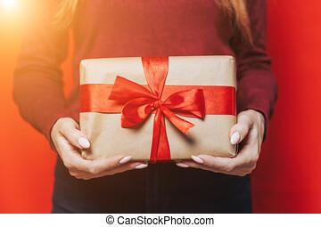 gift., 保有物, 女, 手