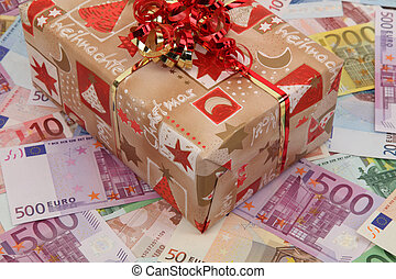 Gift all about money