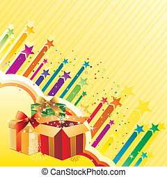 gift and celebration background