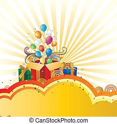 gift and celebration