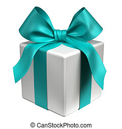 Gift - Aqua Ribbon