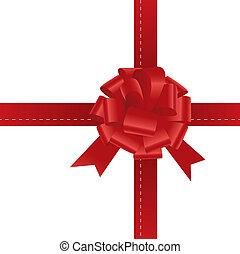 gift bow ribbon