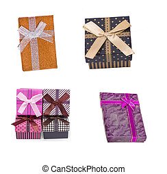 gift box  an isolated on white background