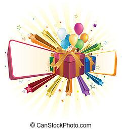 gift box and celebration