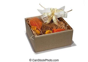 Gift box autumn style