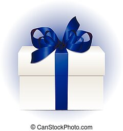 gift box concept with colorful