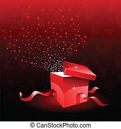 gift box for Valentines Day