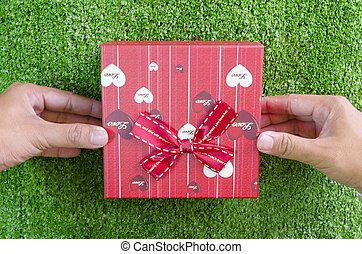 Stock Photo of Heartful Gift Pack for Loved One's csp32699844 ...