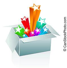 Gift box surprise - entertainment