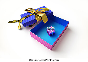 gift box with another very small in