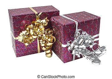 Gift Box with Ribbon Bow