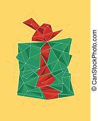 Gift Box Xmas Illustration