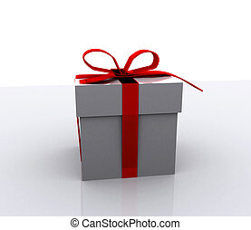 Gift boxes - 3D - Gift boxes with bow - 3D