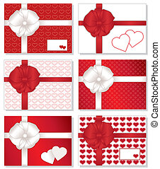 Gift Boxes, Valentine Hearts