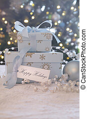 Gift boxes with card