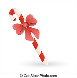 Gift Candy Cane Vector