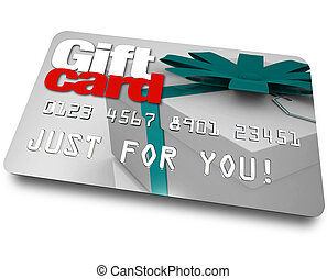 Gift Card Shopping Merchandise Plastic Credit Charge - The...