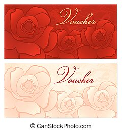Gift certificate, Voucher, Coupon