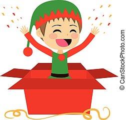 Gift Christmas Elf