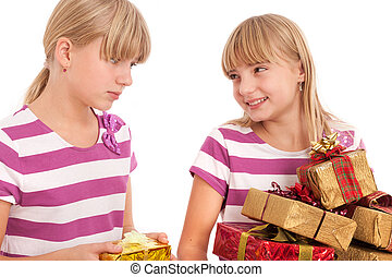 Gift Comparison - Unfair gift-giving