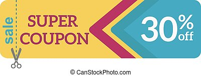 Gift Coupon certificate template vector illustration.