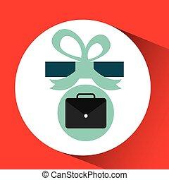 gift father day with portfolio