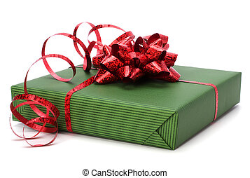 Gift - gift isolated on white background
