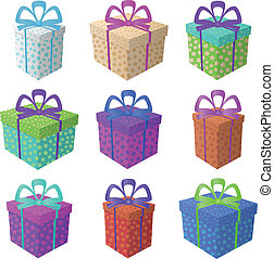 Gift holiday boxes