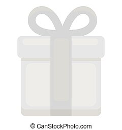 Gift icon of vector illustration for web and mobile