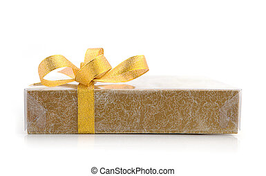 Gift, isolated on white background