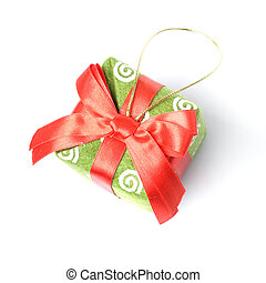 Gift isolated on white