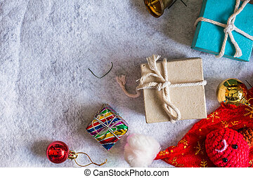 gift on a white background.