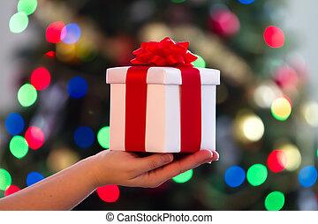 gift on hand