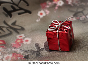 gift on the fabric