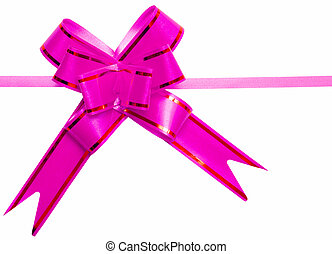 gift pink bow