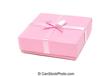 Gift rose box with bow