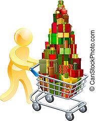 Gift shopper concept
