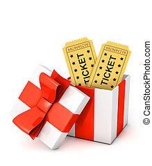 Gift tickets