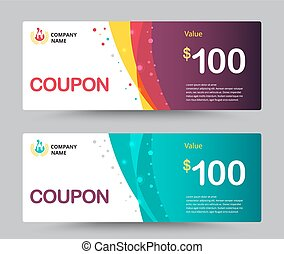 Gift voucher card template design. for special time, Coupon template, Thank giving, and other sale. vector illustration.