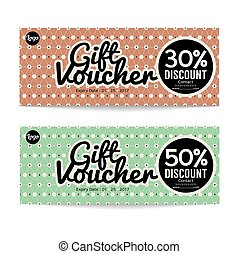 Gift Voucher Modern Template Design